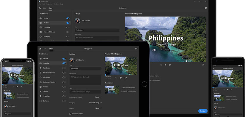 Adobe Premiere Rush Review – An Easy, Simple, Cross-Device Video Editing APP