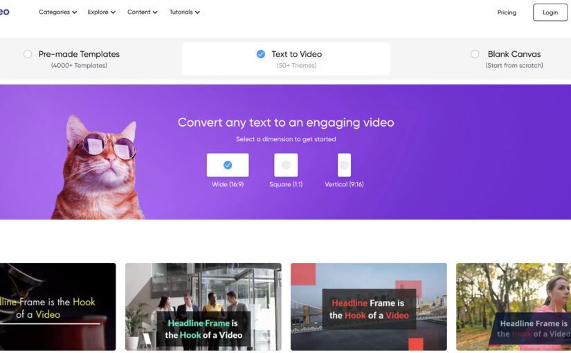 7 Best Free, Free-Trial, or Open-Source Text to Video Converters / Makers